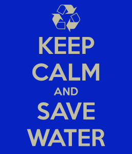 KEEP CALM AND SAVE WATER