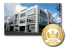 LEED Gold Certified Building in Boca Raton, FL Serviced By SparkleTeam Business Cleaning Services