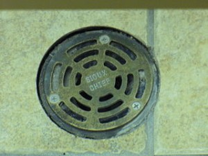 Problems with floor drains such as back flow, insects and foul odors
