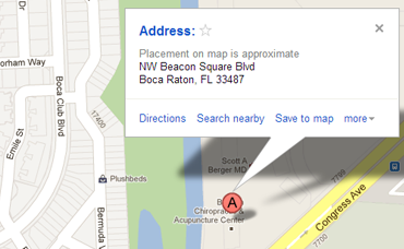 7805 NW Beacon Square Blvd. Suite 205 Boca Raton, FL 33487
