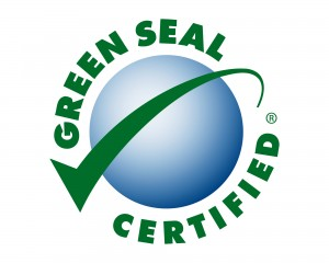 Green Seal Logo for green certified products
