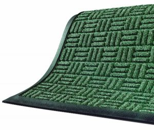 green interior mat
